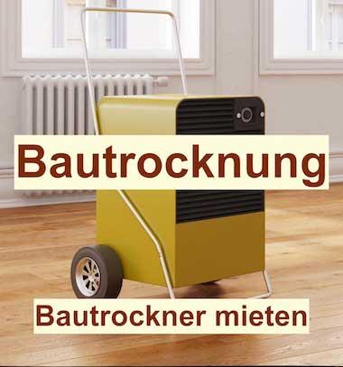 Bautrocknung Berlin - Bautrockner mieten