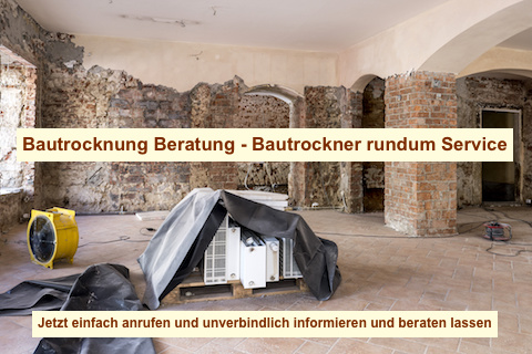 Bautrockner mieten Berlin - Bau Trockner leihen