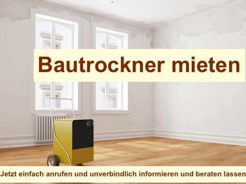 Bautrockner mieten Berlin