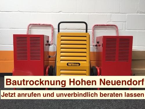 Bautrocknung Hohen Neuendorf