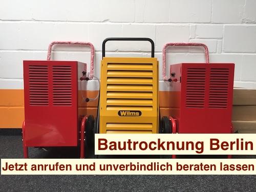 Wände trocknen mit Bautrockner Berlin & Brandenburg