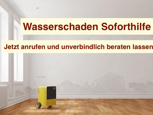 Wasserschaden Bautrockner Berlin